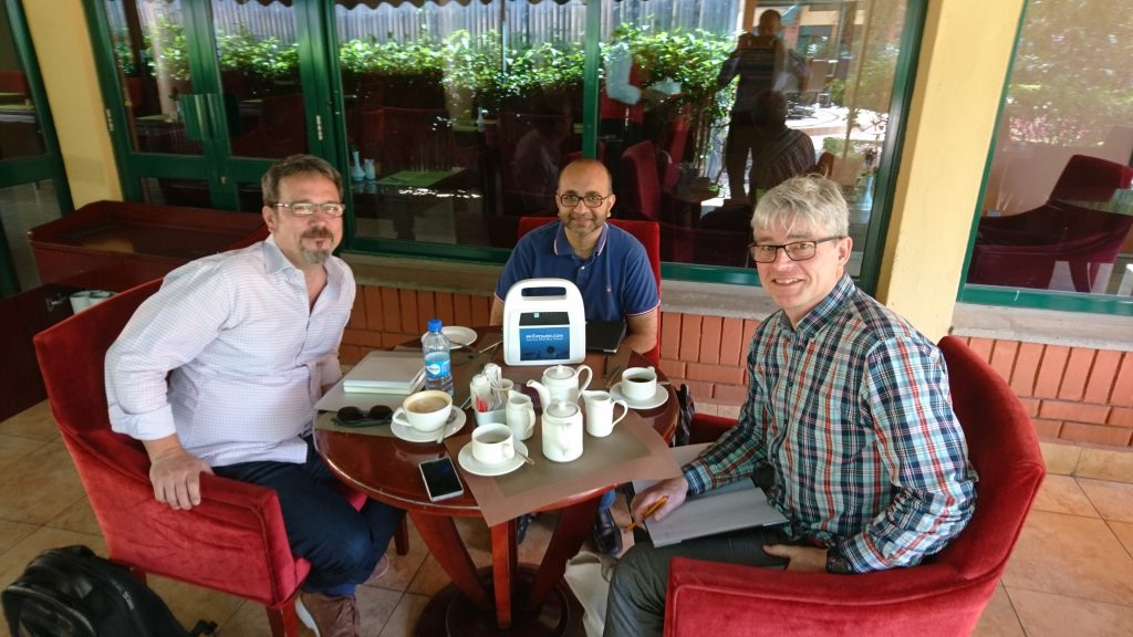 Meeting with Solarkiosk